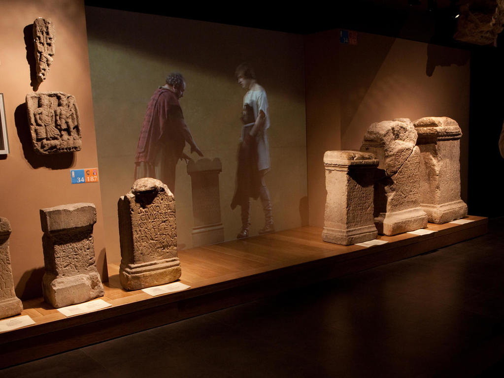 Image: Aquae Sulis area of the museum