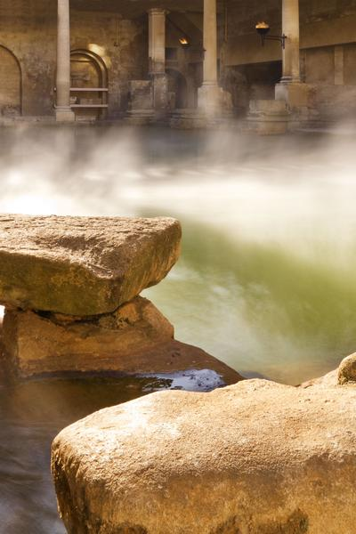 Image: Great Bath, Diving Stone