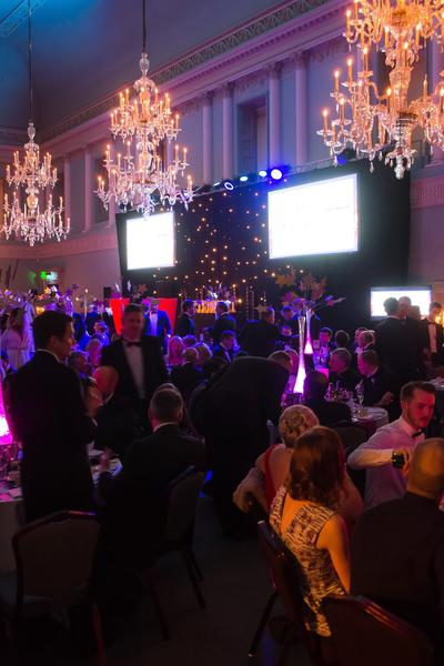 Image: Dinner at the Assembly Rooms, Paolo Ferla for Bath Life Awards