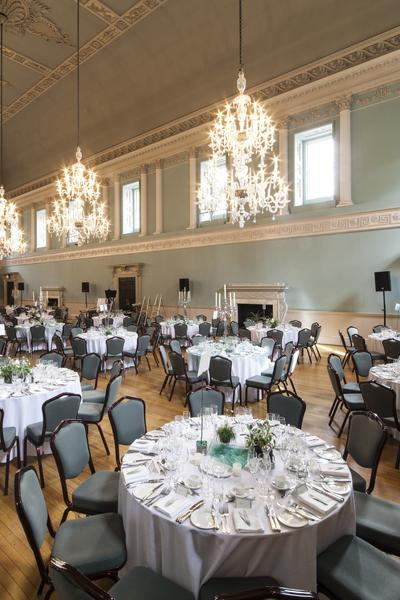 Image: Lunch in the Ball Room, Richard Greenly Photography
