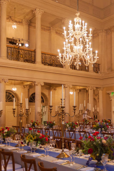 Image: 1920's themed wedding reception at the Assembly Rooms