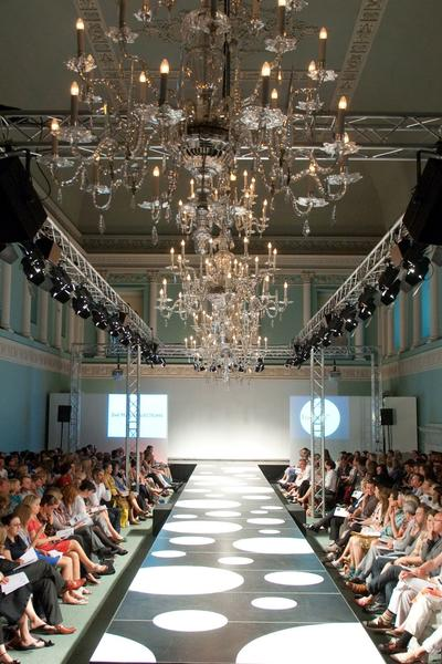 Image: Fashion Show at the Assembly Rooms