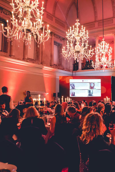 Image: Bath Life Awards in the Tea Room
