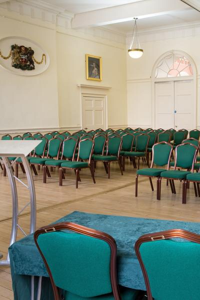 Image: Meeting in the Brunswick Room at the Guildhall
