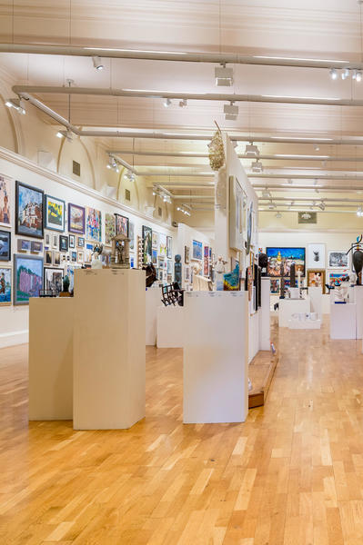 Image: Lower Gallery, Victoria Art Gallery, Andy Fletcher