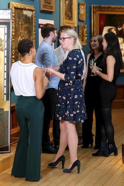 Image: Drinks reception in the Upper Gallery