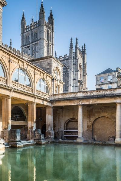 Image: Sunny Great Bath, Andy Fletcher