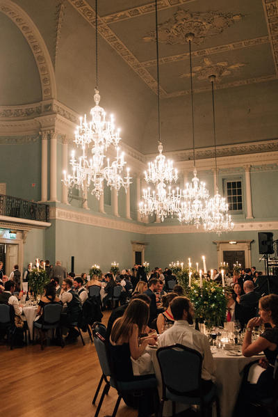 Image: Wedding Reception in the Ball Room