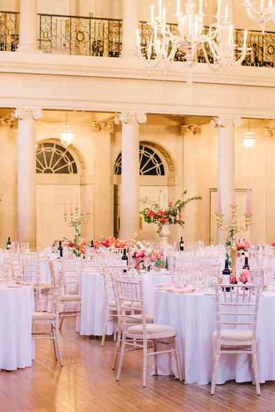 Image: Wedding Reception in the Tea Room