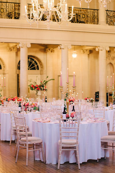 Image: Wedding reception in the Tea Room, M& J Photography