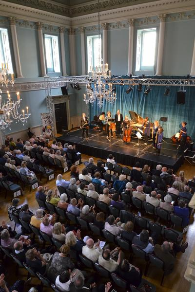 Image: Concert in the Ball Room, Assembly Rooms, Julian Foxon