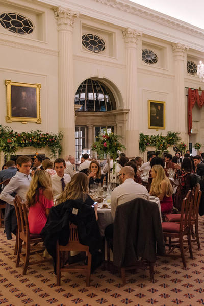 Image: Wedding Reception in Pump Room