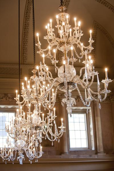 Image: Tea Room Chandeliers, Jo Hansford