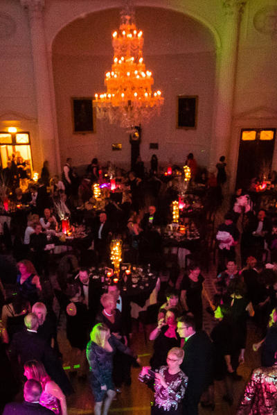 Pump Room Christmas party image: Paolo Ferla