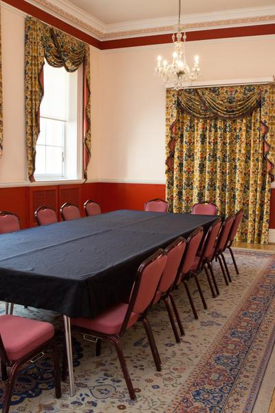 Image: Meeting in the Kingston Room, Freia Turland