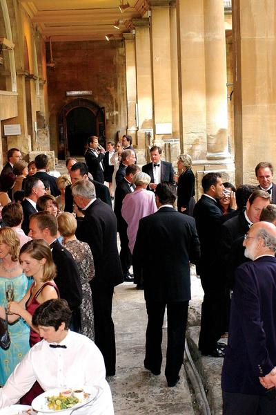 Image: Roman Baths drinks reception