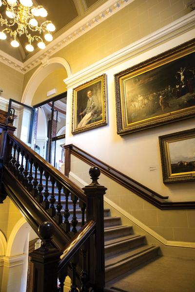Image: Victoria Art Gallery Staircase