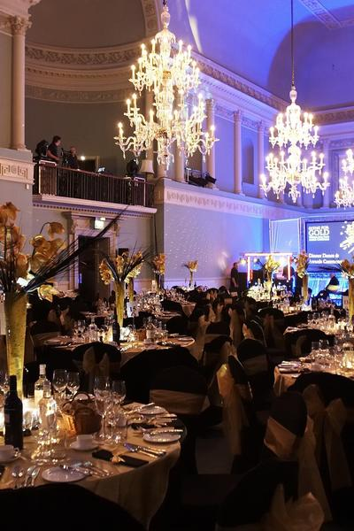 image: dinner in the Ball Room