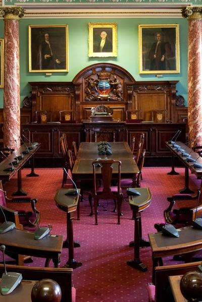 Image Council Chamber, Guildhall