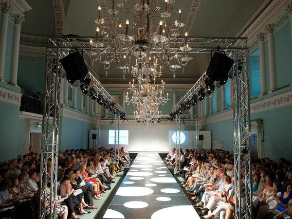 Image: Fashion show at Assembly Rooms