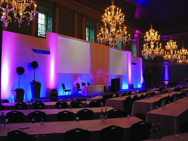 Image: Conference in the Ball Room at the Assembly Rooms, Nick Williams Photography
