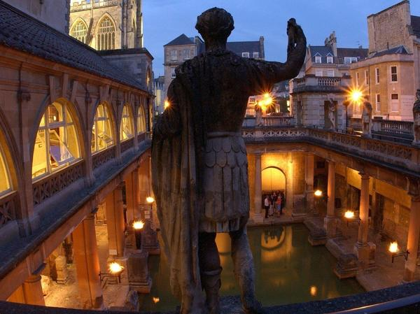 image: Torchlit Great Bath