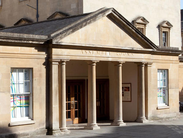 Image: Assembly Rooms entrance