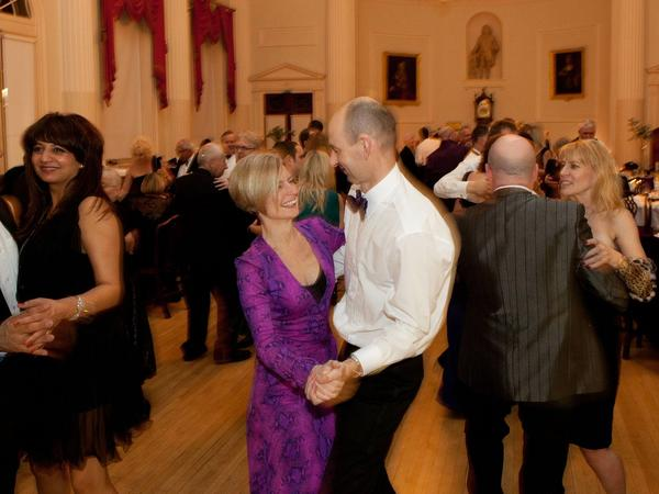 Image: dancing in the Pump Room