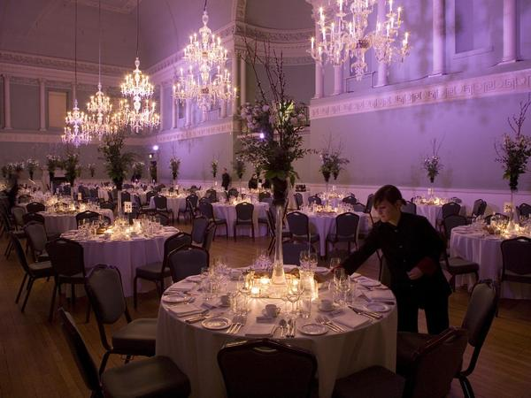 Image: Assembly Rooms dinner